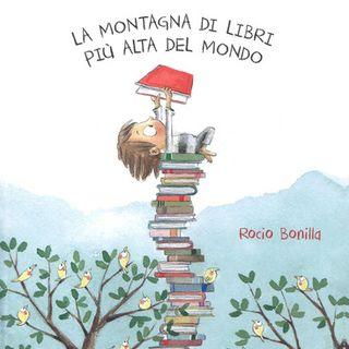 Audiolibri per bambini - La montagna di libri più alta del mondo (Rocio Bonilla) www.radiogiochiecolori.it