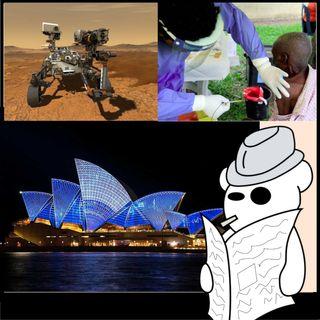 Marte, ebola, Australia e dintorni