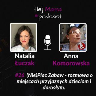 #026 - (Nie)plac zabaw - rozmowa z Anną Komorowską