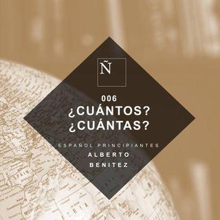 006 Cuántos Cuántas - Español Principiantes