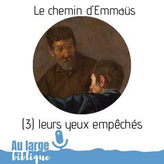 #150 Le chemin d'Emmaüs (3) Leurs yeux empêchés