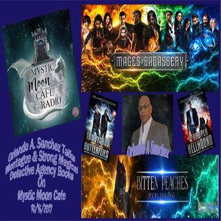 Orlando A. Sanchez Talks Montague & Strong Detective Agency