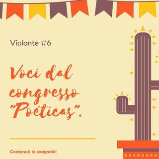 """Voci dal II Congresso """"Poéticas""""."""