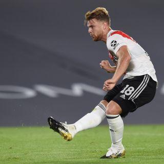 Gol de River: Lucas Beltrán 1-0