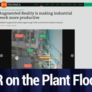Augmented Reality in the Workplace   TWiT Bits