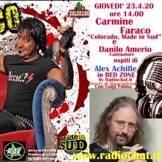 Carmine Faraco e Danilo Amerio ospiti di Alex Achille in RED ZONE by Radiochat.it