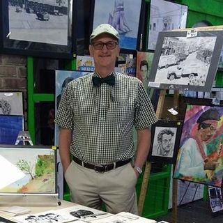 PODCAST O3 Artist Ron Enderland at Mural Fest 66