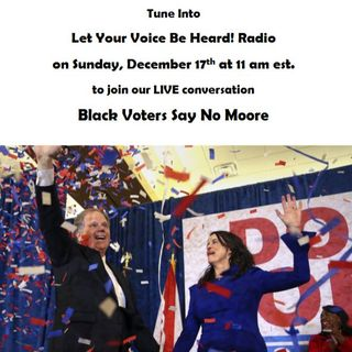 Black Voters Say No Moore