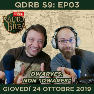 QDRB S1Ep01 -And so it begins!