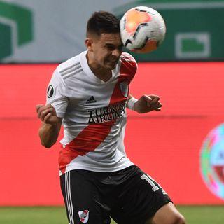 Gol de River: Rafael Santos Borre 0-2