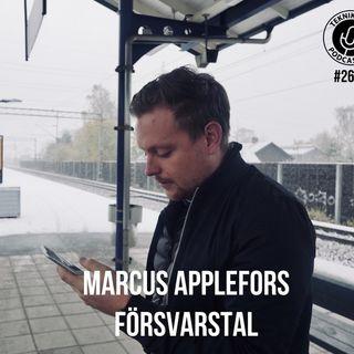 Avsnitt 261: Marcus Applefors försvarstal