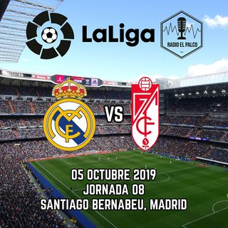 Real Madrid vs Granada en VIVO