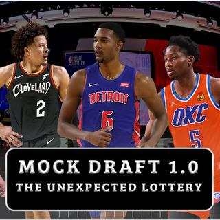 CK Podcast 530: 2021 NBA Mock Draft 1.0 (Picks 1-14) UNEXPECTED LOTTERY!