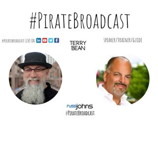 Catch Terry Bean on the PirateBroadcast