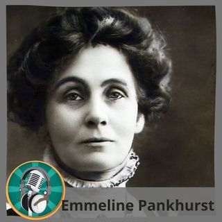 Alicia Borrero con Emmeline Pankhurst
