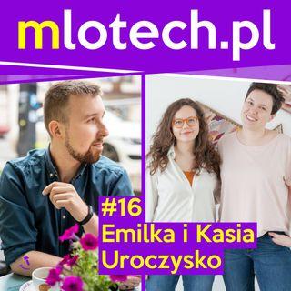#16 Kwiaty, śluby i marketing: Emilka i Kasia, Uroczysko - pracownia florystyczna