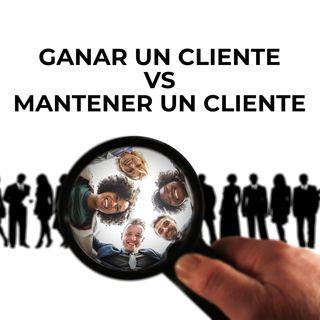 39 Ganar un cliente o mantener un cliente