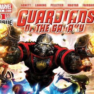 Source Material #116: Guardians of the Galaxy Comics 1-6