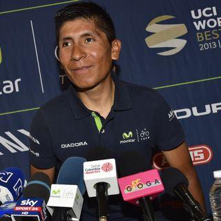 Nairo Quintana pre Tour de France 2017