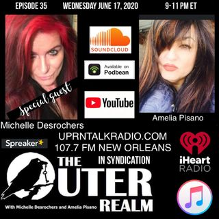 The Outer Realm With Michelle Desrochers and Amelia Pisano