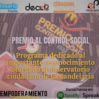 Premio al Control social