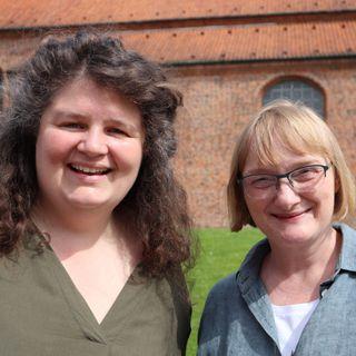 11. s. e. trinitatis. Rikke Vestergaard i samtale med Hannah Lyngberg Larsen
