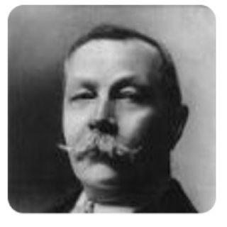 """""""O Cão dos Baskervilles"""",de Sir Arthur Conan Doyle"""