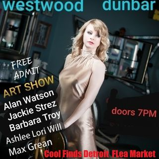 Jennifer Westwood & Dylan Dunbar @ Spread Art Detroit