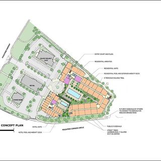 Rezoning Multi-Use Property in the Town Center