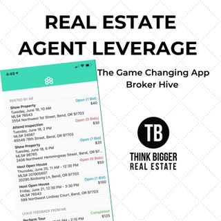 Broker Hive- Game Changing Leverage for Real Estate Agents