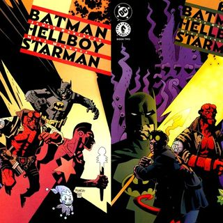 Source Material #217 - Batman/Hellboy/Starman (DC, Dark Horse, 1999)