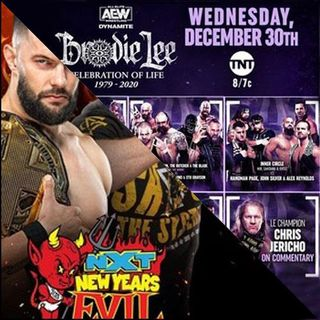 TV Party Tonight: Brodie Lee Celebration of Life & NXT - New Year's Evil