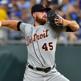 Buck Farmer - Detroit Tigers Relief Pitcher