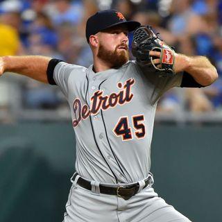 Buck Farmer - Detroit Tigers Relief Pitcher