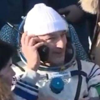 #SpaceTalk Torna a casa Luca