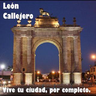 León callejero 3. Mérida, plaza Santa Ana.
