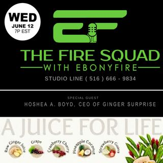 THIS WEDNESDAY - GINGER SURPRISE on The Fire Squad with EbonyFire
