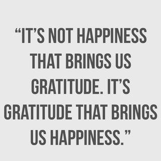 Gratefulness - behaviors to adopt