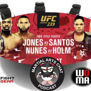 UFC 239 Roundtable