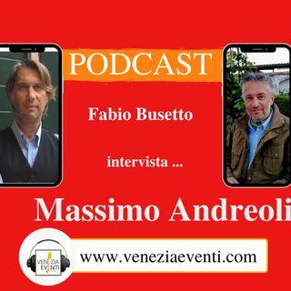 Due chiacchiere con Massimo Andreoli.