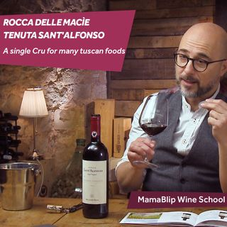 Sangiovese   Tenuta Sant'Alfonso - Rocca delle Macìe   Wine Tasting with Filippo Bartolotta