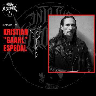 """#100 - Kristian """"Gaahl"""" Espedal (Gaahl's Wyrd)"""