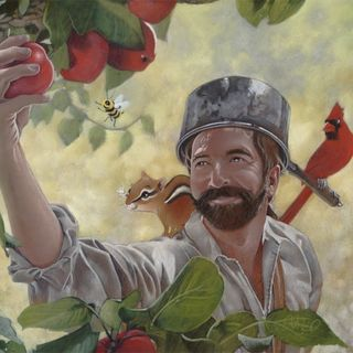 Johnny Appleseed's Economic Lessons & Guest Dr. Robert McHugh