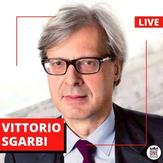 Vittorio Sgarbi sull' immunità di gregge, arte e Silvia Romano