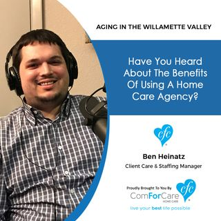 12/19/17: Ben Heinatz with ComForCare Home Care | Have you heard about the benefits of use a home care agency?