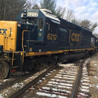 Taunton Fire Responds Train Derailment; Fuel Spill