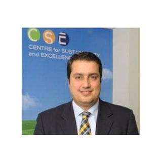Nikos Avlonas, President of Centre for Sustainability & Excellence with Mitchell