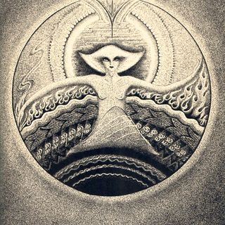 """Lotus Light"" by Ruth St. Denis (1932)"