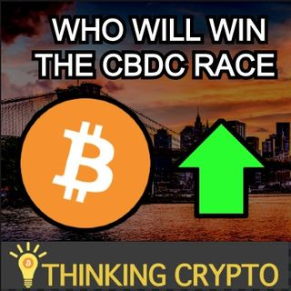 CRYPTO MARKET PUMPS - Bitcoin Hashrate Increases Significantly - Who Will Win The CBDC Race?