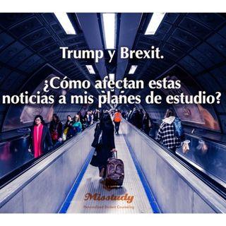 Trump y Brexit. ¿Cómo afectan estas noticias a mis planes de estudio?